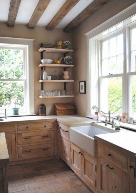 Country Farmhouse Kitchen Design Ideas