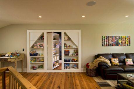 Hidden Bookcase Door Secret Rooms