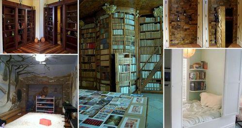 Houses With Secret Hidden Rooms