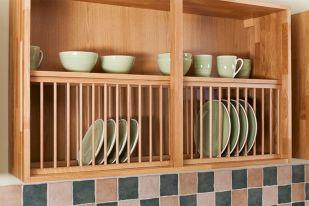 Kitchen Cabinet Plate Rack