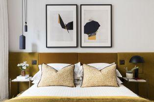 Modern Bedroom Color