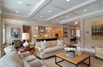 Open Concept Living Room Design