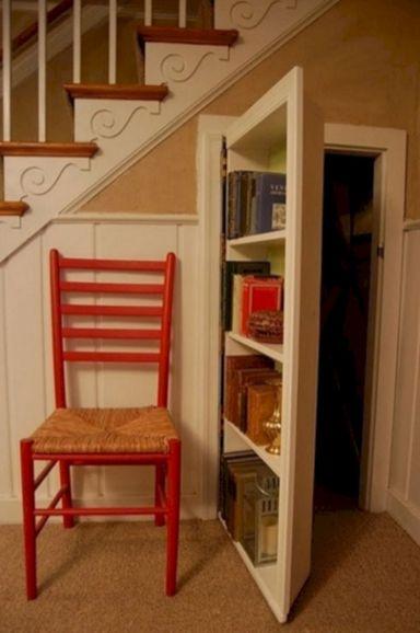 Under Stair Hidden Bookcase Door