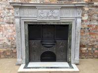 Antique Georgian Vintage Fireplace
