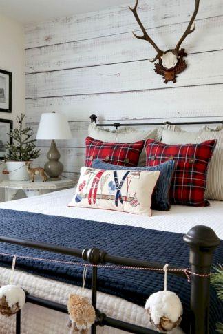 Awesome Christmas Bedroom Design 21