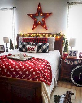 Awesome Christmas Bedroom Design 38