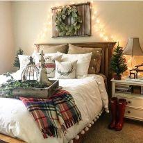 Awesome Christmas Bedroom Design 40