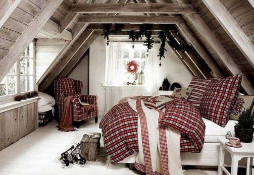 Awesome Christmas Bedroom Design 43
