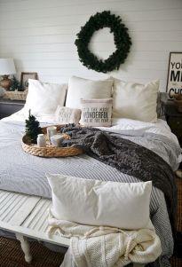 Awesome Christmas Bedroom Design 45