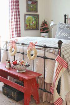 Awesome Christmas Bedroom Design 5