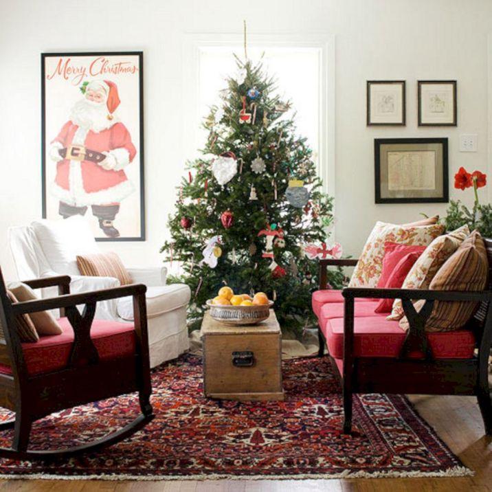 Christmas Living Room Decorating Design Ideas