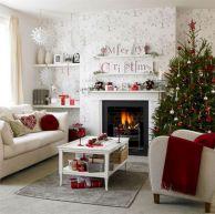 Christmas Living Room Decorating Design