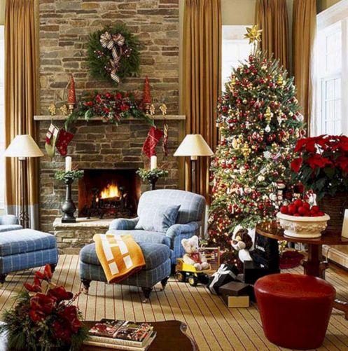 Christmas Living Room Decorating