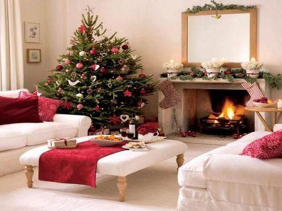 Christmas Living Room Design Ideas
