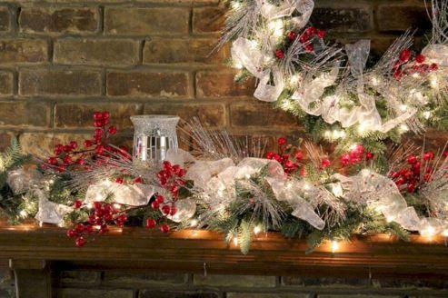 Christmas Mantel Decoratings