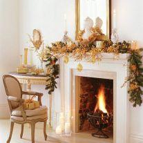Fireplace Mantel Christmas Ideas