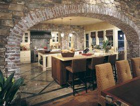 Stone Kitchen Design Ideas