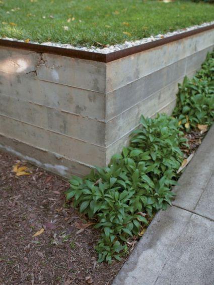 Concrete Retaining Wall Designs