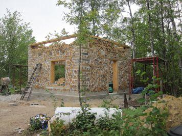 Cordwood Home Construction Plans