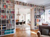 DIY Built In Wall Bookshelves