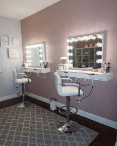 DIY Makeup Vanity Design Ideas 23