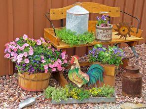 Farm Container Garden