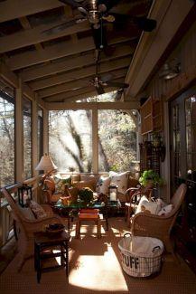 Gorgeous Farmhouse Front Porch Ideas 110