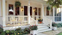 Gorgeous Farmhouse Front Porch Ideas 122