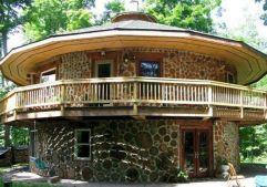 Home Cordwood House Plans