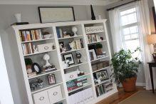 IKEA Living Room Bookshelves