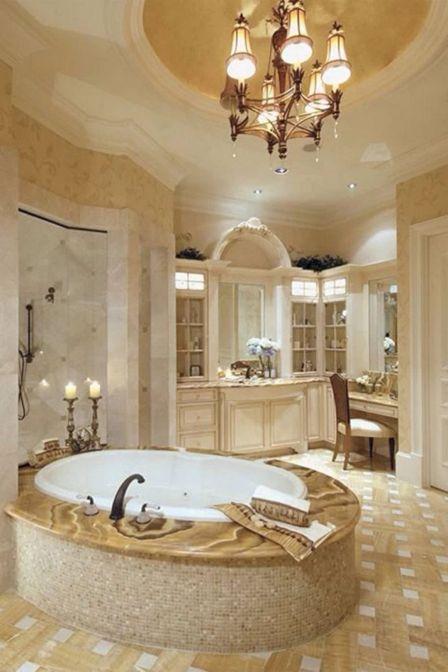 Luxury Mansion Master Bathroom Designs