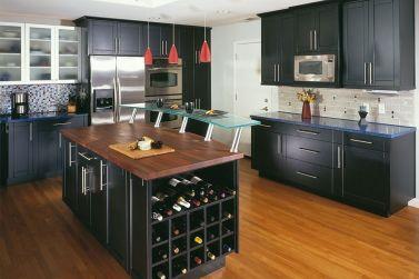 Modern Kitchen Cabinets With Black Ideas