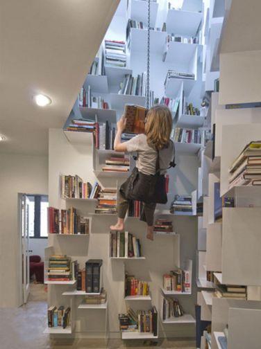 Rock Climbing Bookcase