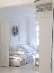 Shabby Chic Apartment Living Room 10