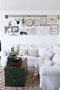 Shabby Chic Apartment Living Room 25
