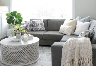 Shabby Chic Apartment Living Room 3