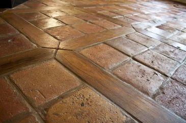 Terracotta Tile And Wood Floors