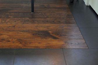Wood Floor With Tile BorderS