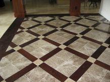 Wood Tile Floor Design