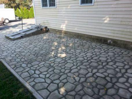 DIY Concrete Patio Form