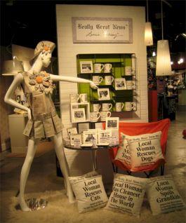 Display Idea Retail Visual Merchandising
