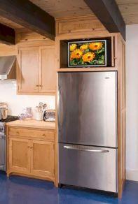 Kitchen Cabinet Above Refrigerator Ideas