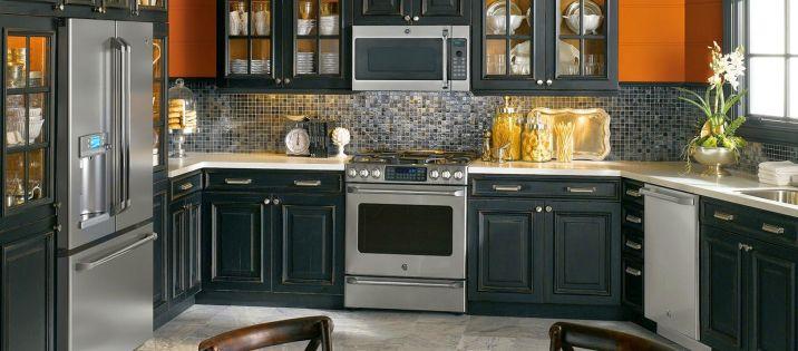 Kitchen Design Ideas With Black Appliances