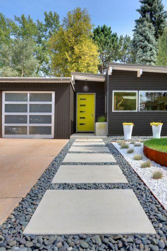 Modern Front Yard Landscape Design Ideas