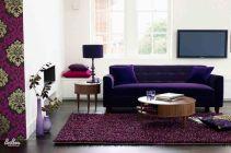 Purple Sofas Living Rooms