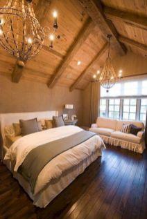 Rustic Master Bedroom Ceiling