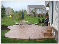 Stamped Concrete Patio IdeaS DESIGN