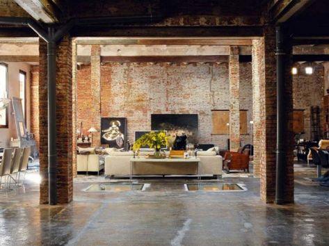 Warehouse Loft Interior Design