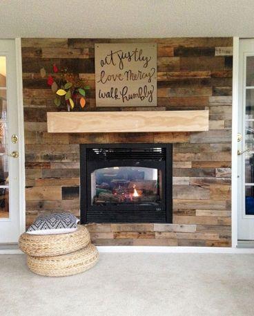Wood Pallet Wall Art Design Ideas