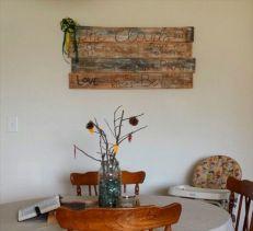 Wood Pallet Wall Art Design